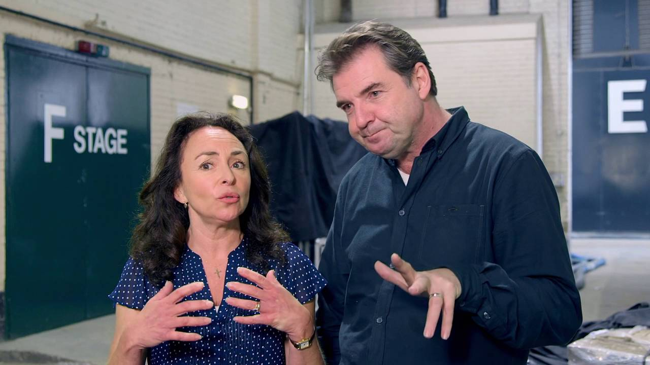 Me Before You Brendan Coyle Samantha Spiro Bernard Clark Josie Clark Interview Screenslam Youtube