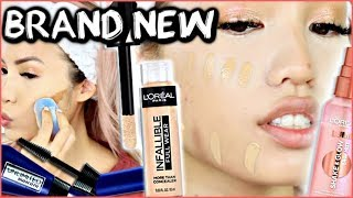 Download NEW L'OREAL RELEASES | INFALLIBLE FULL WEAR CONCEALER + LUMI GLOW MIST | WEAR TEST REVIEW Mp3 and Videos