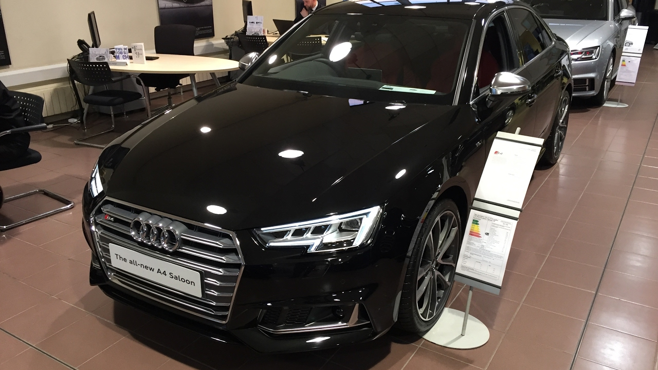 2017 audi s4 b9 saloon exterior and interior review. Black Bedroom Furniture Sets. Home Design Ideas