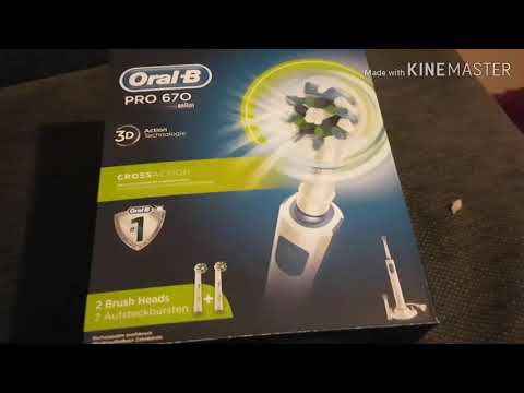 Oral-B Pro 670 eltandborste a92403dd61566