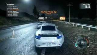 Need For Speed The Run Multiplayer Gameplay [HD] Tier 5 Porsche 911 Carrera S [Mixed, Hard Shoulder]