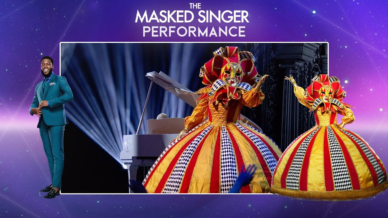 Harlequin Performs 'Falling' By Harry Styles | Season 2 Ep. 6 | The Masked Singer UK