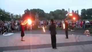 Fireshow teatru ulicznego Fen-X, Sobótka 23 06 2011
