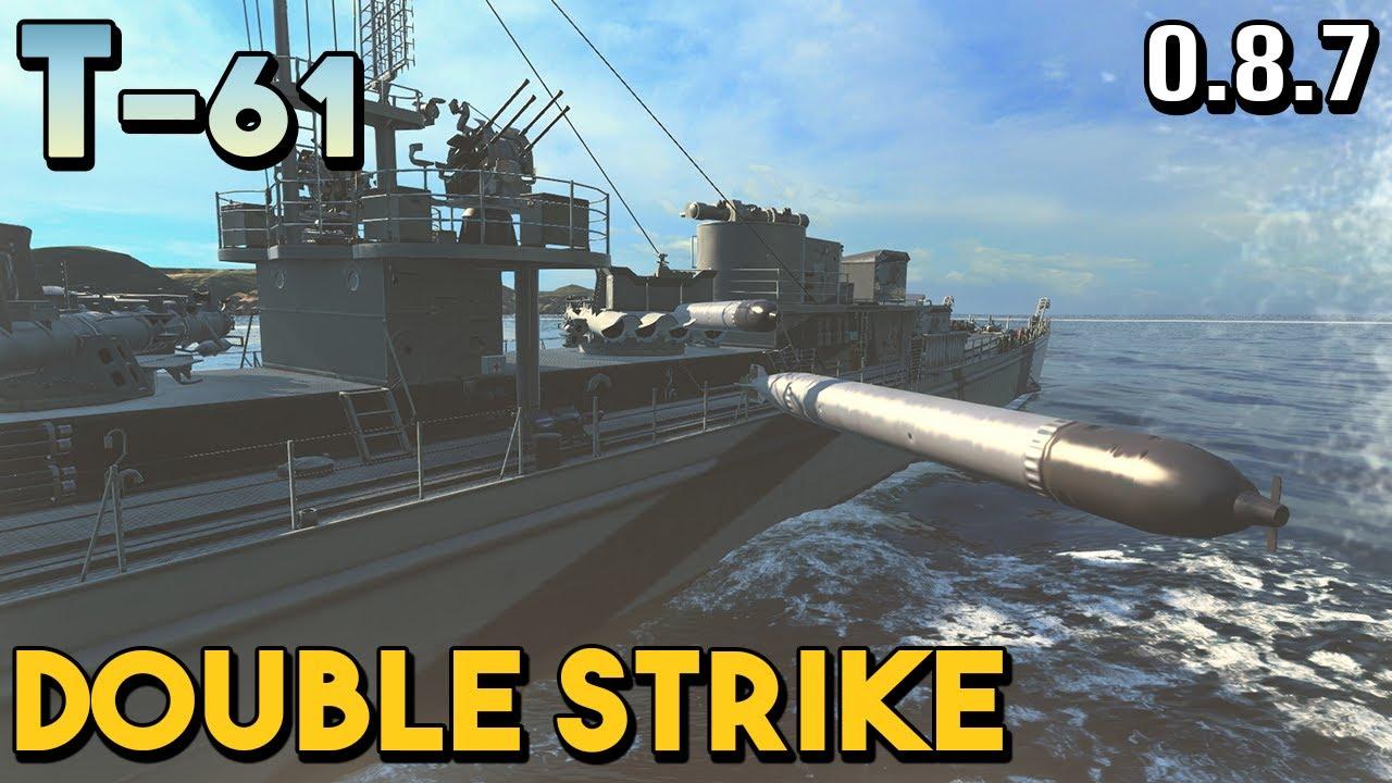 T-61: Bottom Tier - World of Warships - YouTube