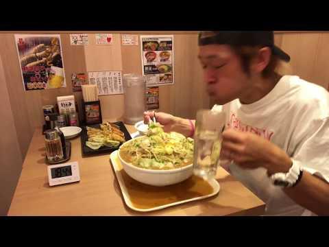 ⚠️閲注早食い大食いラーメン&餃子58kg20分チャレンジ‼️MAX鈴木マックス鈴木