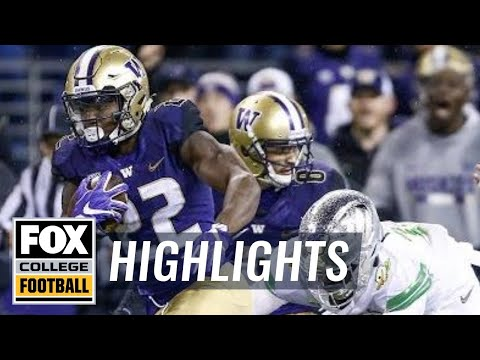Oregon vs Washington | Highlights | FOX COLLEGE FOOTBALL