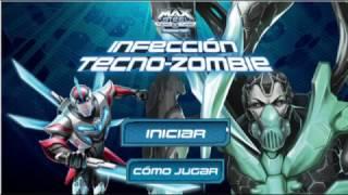 """Max Steel Juego """"Infección Tecno-Zombie"""" [Gameplay]"""
