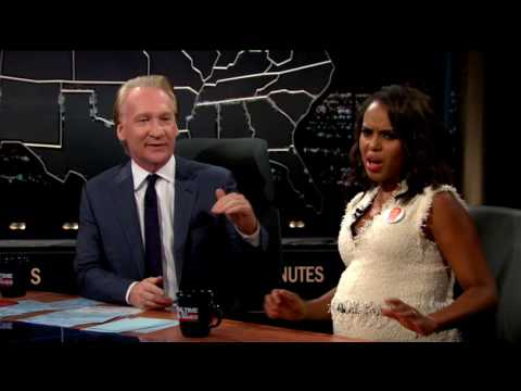 Kerry Washington Knows Spin When She Sees It  Real Time with Bill Maher HBO