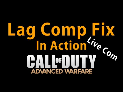 Advanced Warfare - Lag Comp Fix In Action