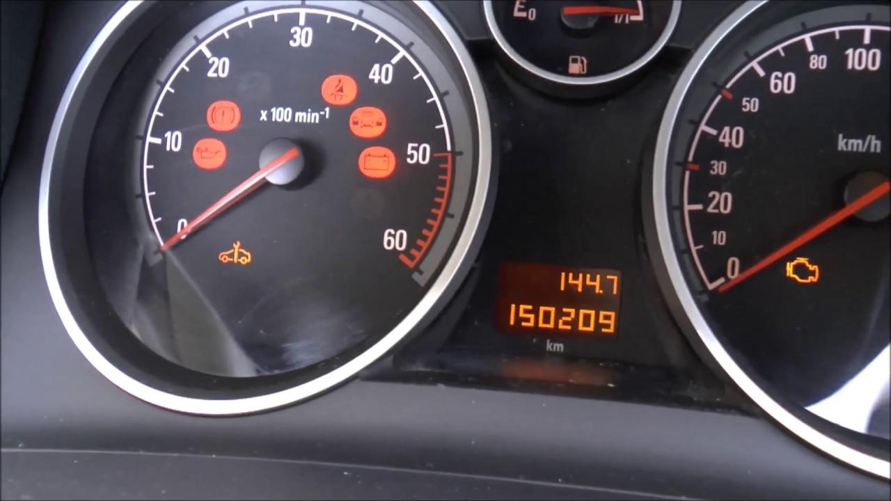 Opel Zafira B 2005-2008 rojo//Minichamps 1:43