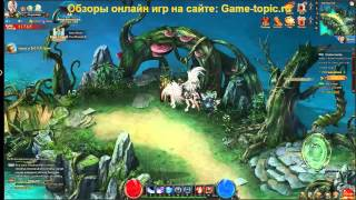 Magerealm: Rise of Chaos Gameplay браузерная игра