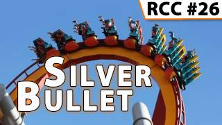 Silver Bullet Roller Coaster -- Front Row POV @ Knott