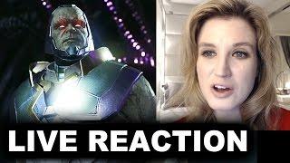 Injustice 2 Darkseid Trailer REACTION