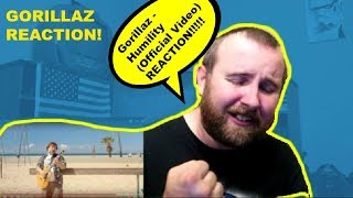 Gorillaz - Humility (Official Video) REACTION!!  (Damon Albarn) (Jamie Hewlett) & Jack Black