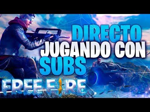 Directo Garera Free Fire Jugando Con Subs Youtube