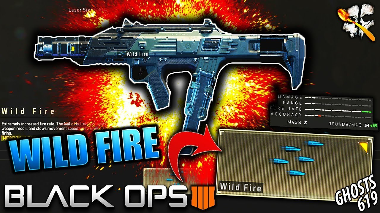 BO4 Spitfire Operator Mod is CRAZY    MAX FIRE RATE