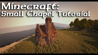 Minecraft: Small Medieval Chapel/Church Tutorial YouTube