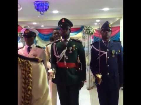 Nigerian Army Salute To Major