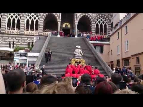 Amalfi Corsa di Sant'Andrea 30 novembre 2014