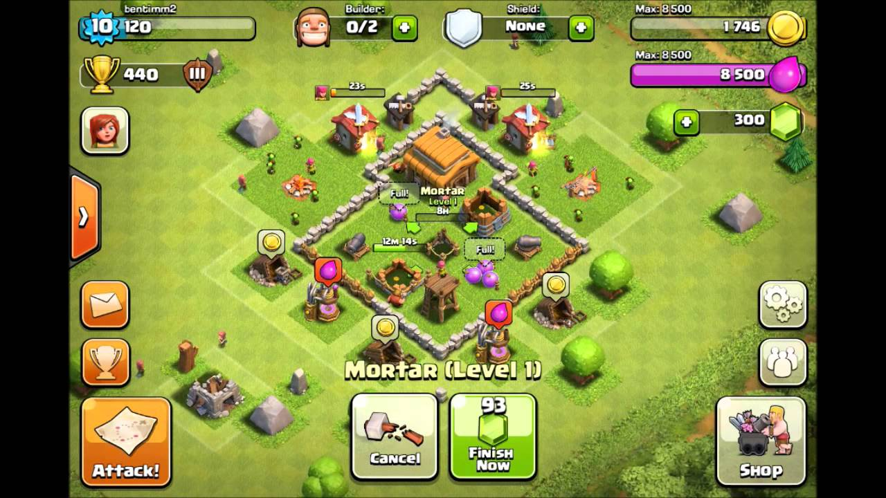 Best Clash Of Clans Defense Town Hall 3 Epic Low Level Raid