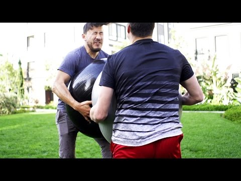 Markiplier BLASTED BIGLY by BOUNCY BALLS