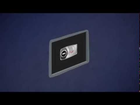 Technomax - Installer un coffre fort à emmurer - YouTube