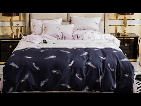 peacock-feathers-bedding-set-|-luxury-satin-bedding-sets-|-home-decor-ideas-|-home-accessories