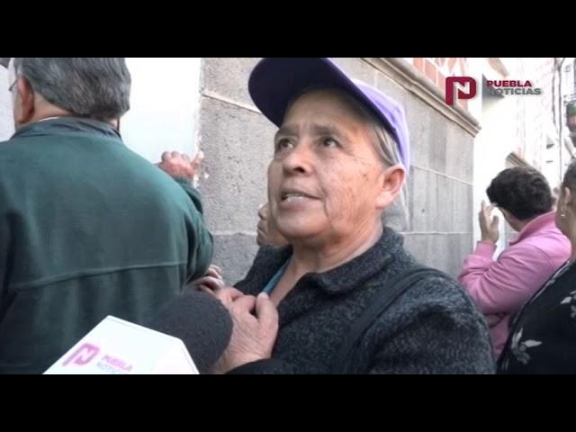 #PueblaNoticias  A esto se enfrentan los adultos mayores para cobrar su pensión