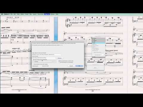 sibelius 6 how to make a coda seperate