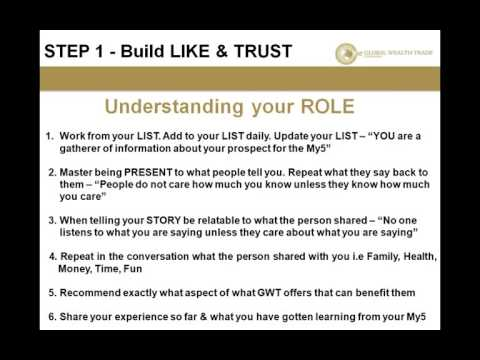 Like & Trust Training & Edification with Anil Ramcharitar