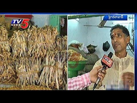 Begum Bazar Merchants Worried Over Old Building Collapse | Hyderabad | TV5 News