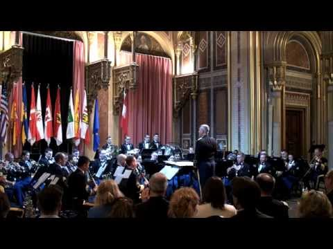 United States Army Europe Band & Chorus at the Austrian Military Museum
