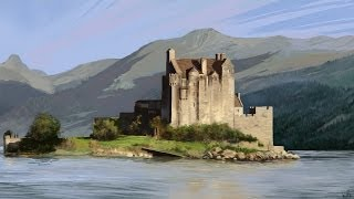 Inspire Pro Canvas Playback — Eilean Donan (Scotland)