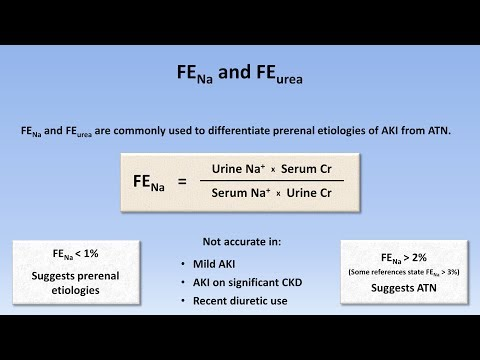 Acute Kidney Injury (Part 2/3 - Diagnostic Evaluation)
