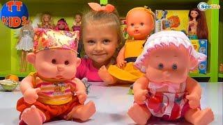 ✔ Кукла Ненуко и Ярослава открывают Сюрпризы и Подарки / Doll Nenuco / Yaroslava unboxing toys ✔