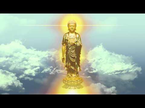 阿彌陀佛 Amitabha 聖號 淨空老法師念佛(0.5mm版)觀像 HD 1080p