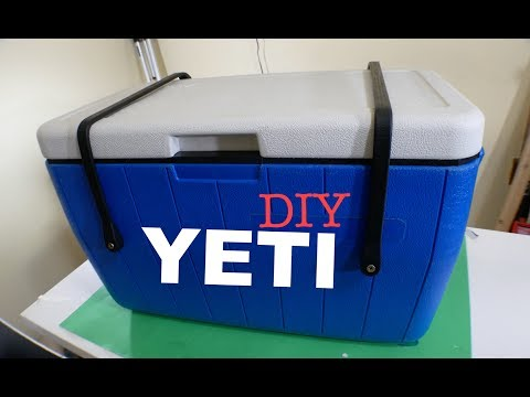 DIY YETI Cooler (BEST ON YOUTUBE)