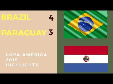 Download Brazil vs Paraguay 0-0 (4-3 PENS) Highlights & Goals - Copa America 2019 (28/6/2019)