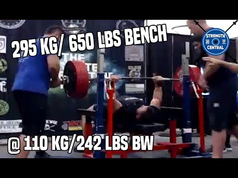 650 lbs to kg