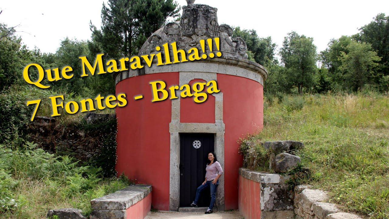 AS ÁGUAS DO MONUMENTO SETE FONTES - BRAGA, PORTUGAL
