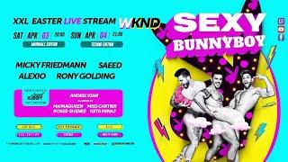 SEXY Bunnyboy – XXL Easter Stream Show – Mainhall Edition