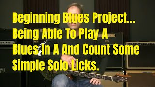 Beginning Blues Guitar Lesson   Playing And Counting Rhythm And Lead Together