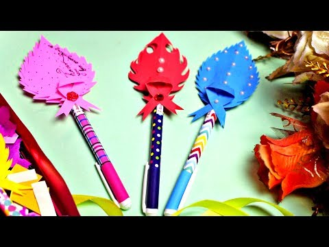 DIY Gift Idea for Teacher's Day | Decorative Pen gift for Teachers