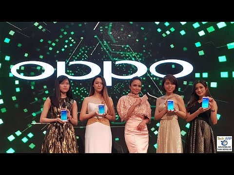 OPPO F1 Plus Smartphone Launch With Nora Danish