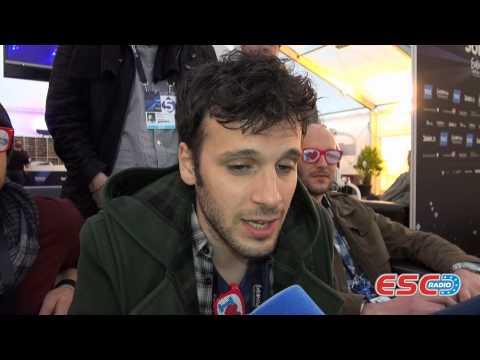 Sebalter (Switzerland 2014) Interview ESC Radio 2014