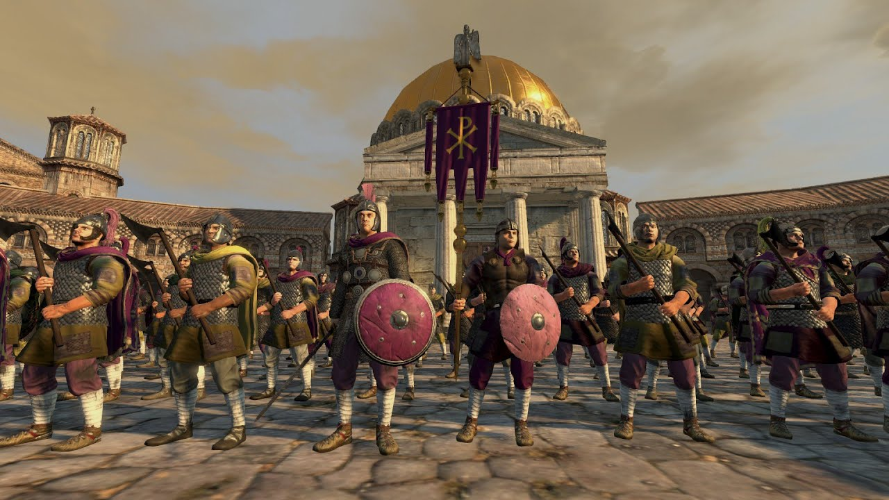 Total War Attila Epic Sieges: Constantinople Burns - YouTube
