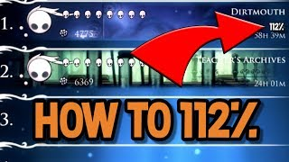 How to Complete HoĮlow Knight 112%