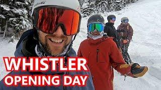 Snowboard - Whistler Opening Day Snowboarding 2019
