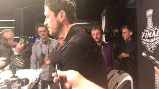 2017 Stanley Cup Final: Sidney Crosby speaks at media day