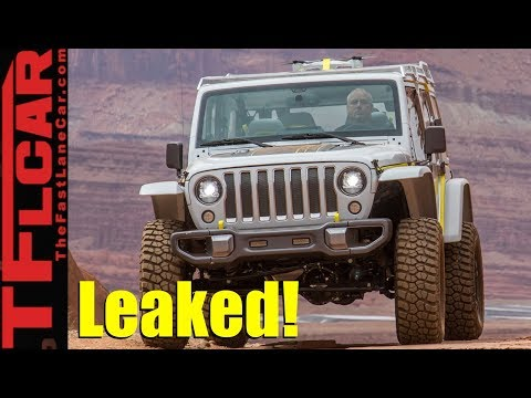 Leaked! New 2018 Jeep Wrangler Surprising Engines and Details